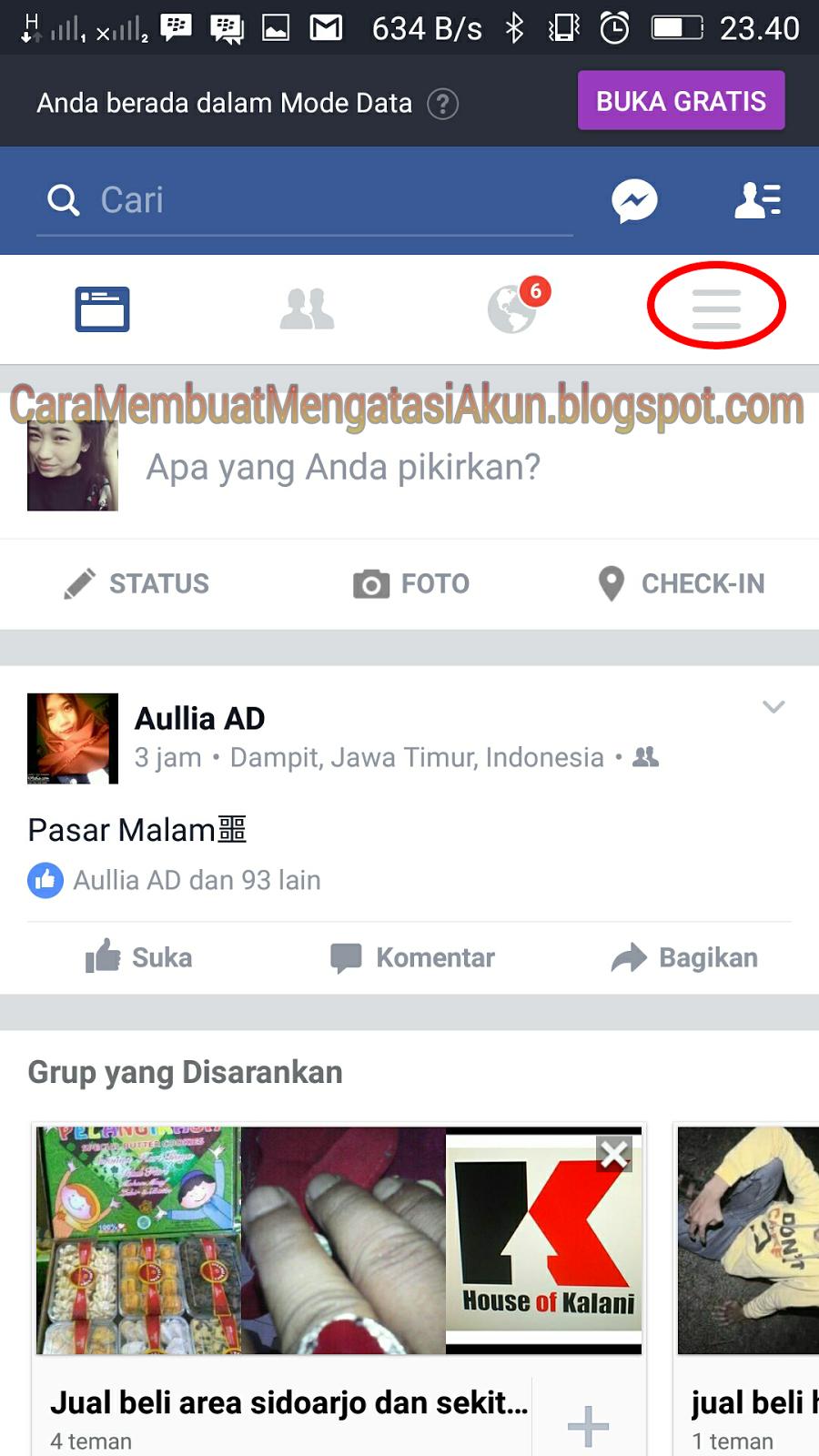 Sf New Community Cara Menghapus Akun Facebook Lewat Hp Permanen