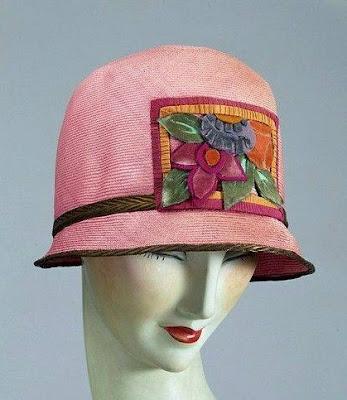 kapelusz lata 20-te