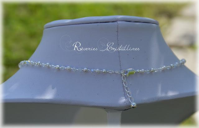 collier mariée cristal de swarovski