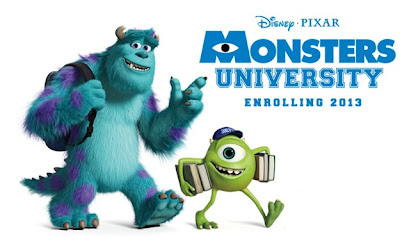 Monsters University Movie - Monsters Inc 2 Trailer - Disney Pixar's prequel to Monsters Inc