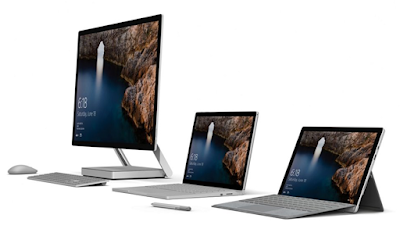 Source: Microsoft. The Surface family.