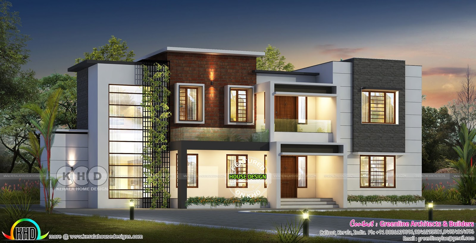 5 bedroom modern contemporary home 4800 square feet