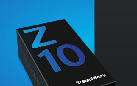 BlackBerry Z10 box