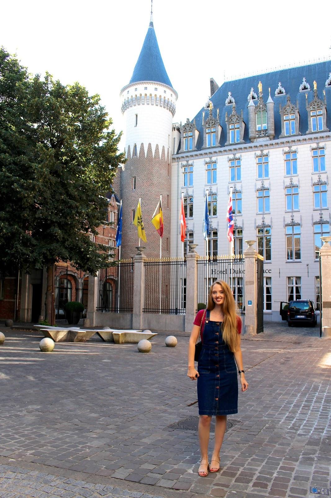 Luxury travel blogger visit to Hotel Dukes' Palace