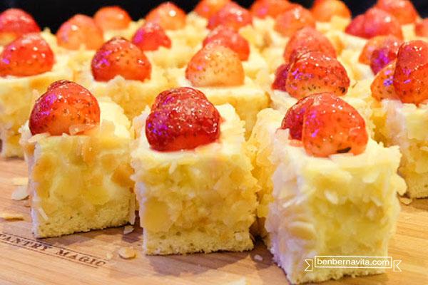 almond tree cake