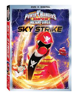 DVD Review - Power Rangers Super Megaforce: Sky Strike