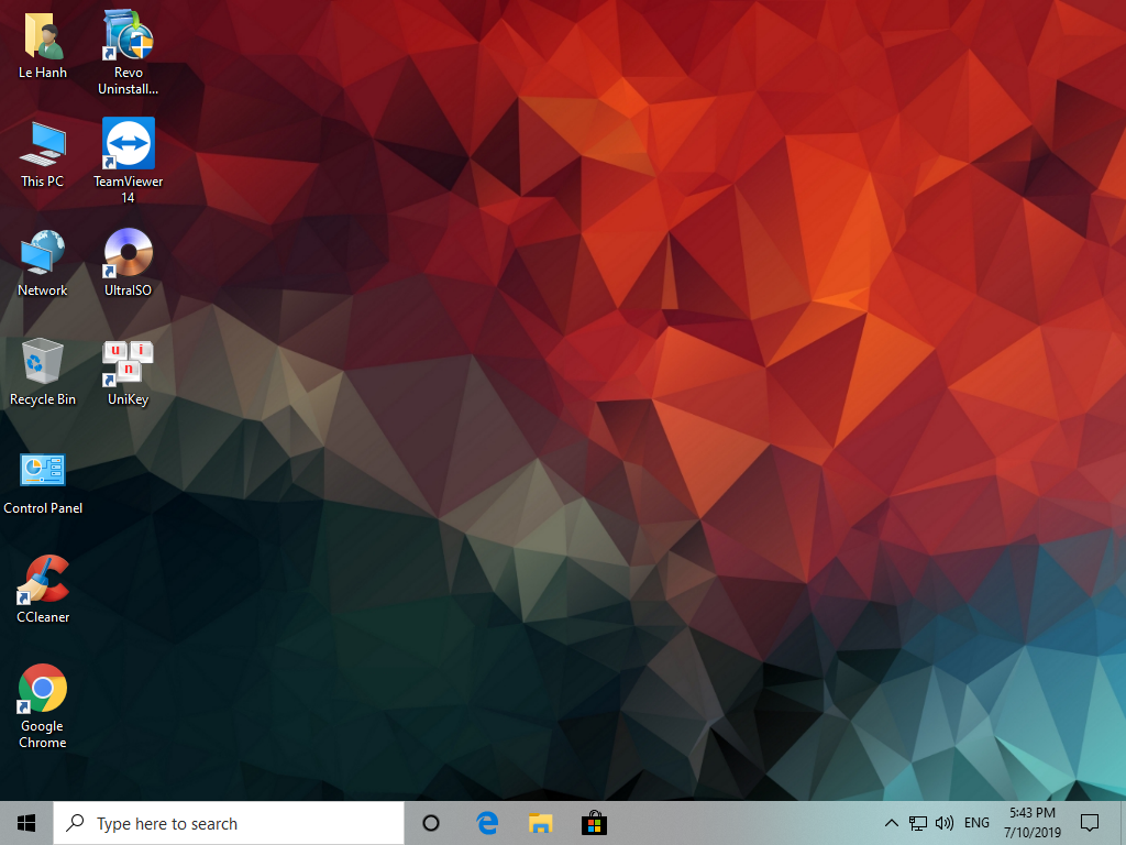 Bộ cài Windows 10 Enterprise, Version 1903, OS Build 18362 267 (64-bit)