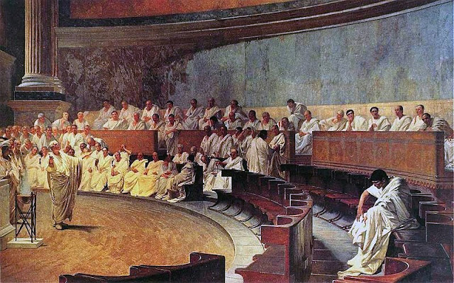 Ancient Roman's senate