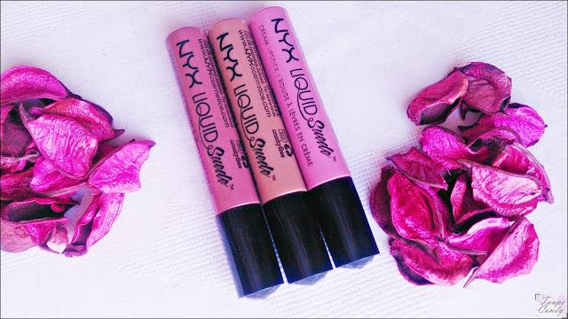 Nyx liquid suede cream lipsticks