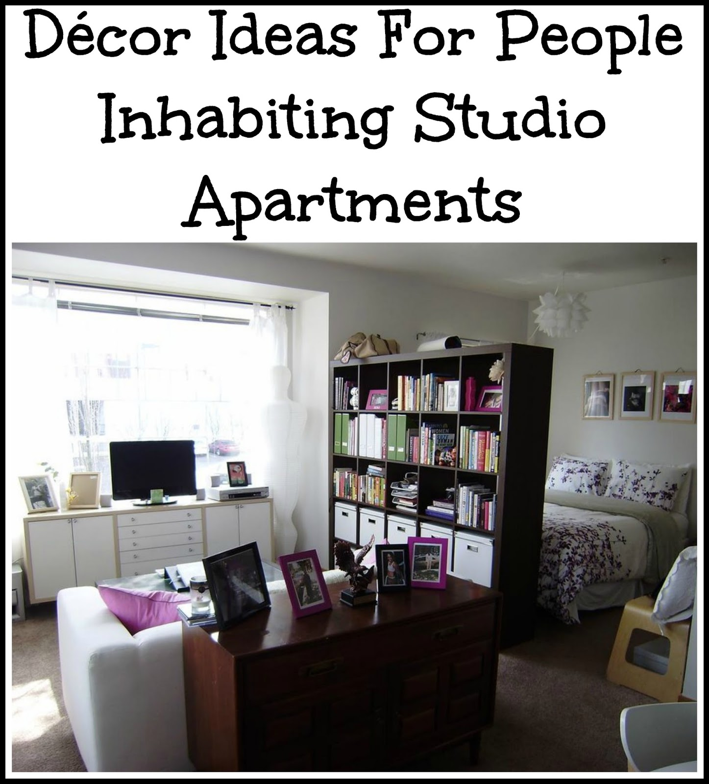 D Cor Ideas For People Inhabiting Studio Apartments