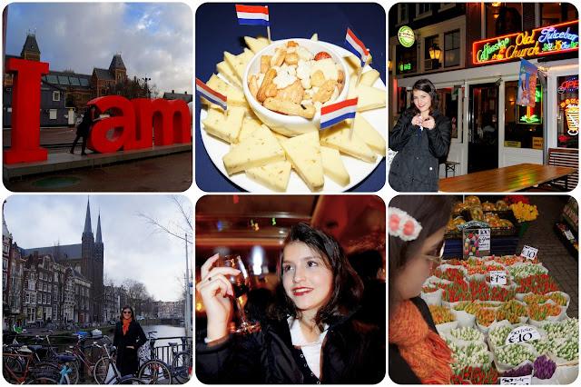 Holanda / Países Baixos / Amsterdam / Bairro Vermelho / Tulipas / Coffeshop