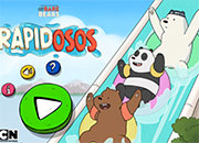 We bare Bears: Rapidosos