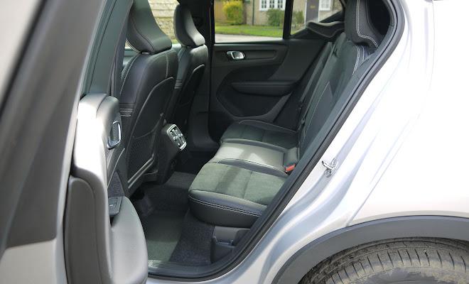 Volvo XC40 rear cabin