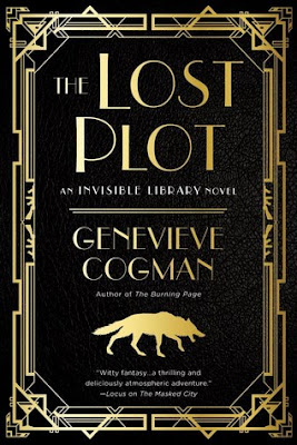Bea's Book Nook, Review, The Lost Plot, Genevieve Cogman