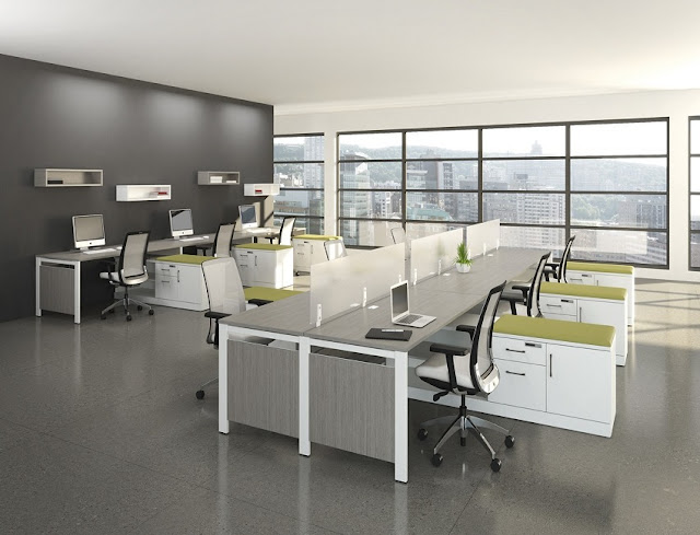 best buy modern modular used office furniture Ohio for sale