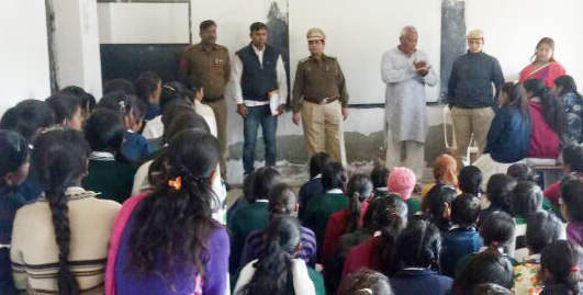 Special initiative for women safety of District Palwal * * Operation Durga Begins *, educated to schoolchildren