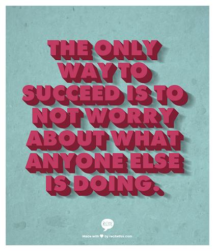 succeeding quote