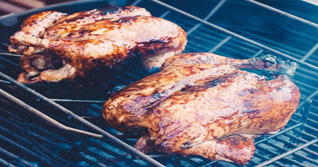 Sweet, Smokey Glazed Chicken Recipe