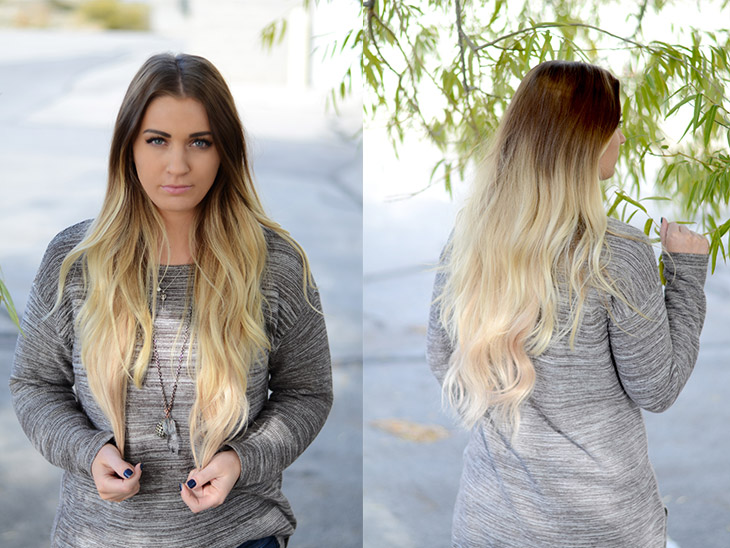Bellami Hair Extensions Ombre Gallery For Short