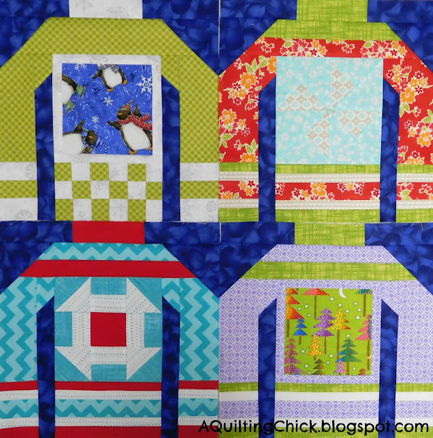 Ugly Sweaters Set 4