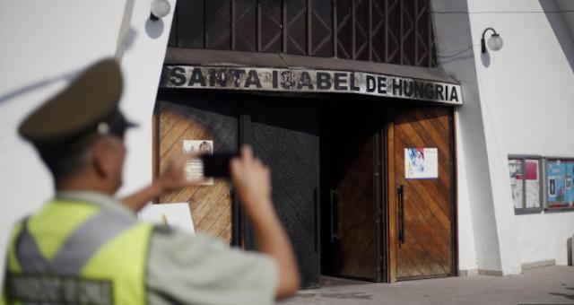 Ataques a Iglesias Católicas en Chile antes de la llegada del Papa Francisco