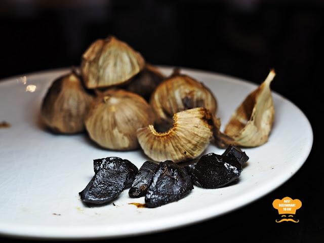 Organic Black Garlic From Japan Summer Palace Chinese Restaurant Marriott Putrajaya Hotel