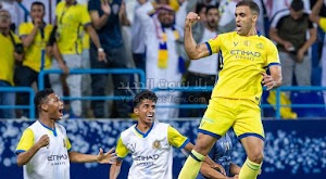 النصر يتخطي نادي العدالة بهدف وحيد ويتاهل لنصف نهائي كأس خادم الحرمين الشريفين