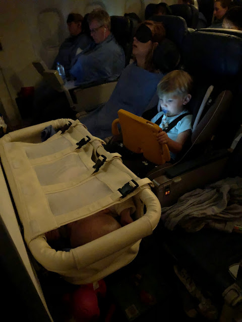 airplane bassinet