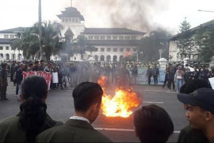 Dahsyat, Mahasiswa Bangun dari Tidurnya! Jokowi Jangan Tenang-Tenang, Mahasiswa Di Daerah Mulai Bergerak