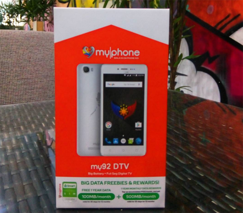 MyPhone My92 DTV Teased, Will Come With 1 Year FREE Data From Smart!