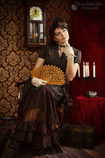 Victorian Pin-Up | Photo: Yvonne Sophie Thöne | www.zeitunschaerfe.de