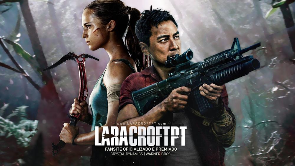 Não subestimem a nova Lara Croft!