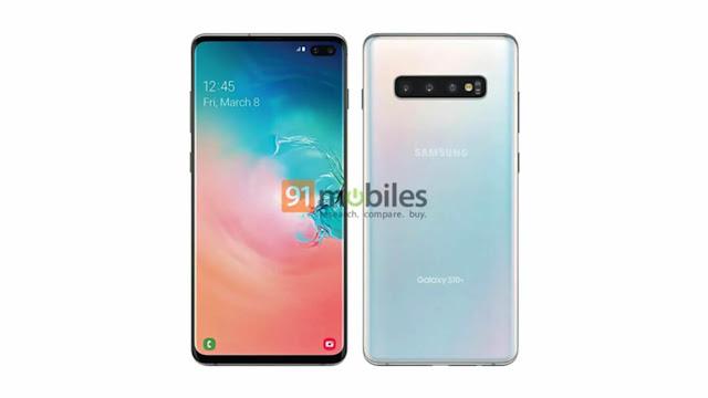 Samsung Galaxy S10 Plus Filtraciones Render