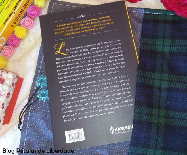 Diagramação, Como-se-vingar-de-um-cretino, Suzanne-Enoch, Harlequin, romance-de-epoca, capa, sinopse