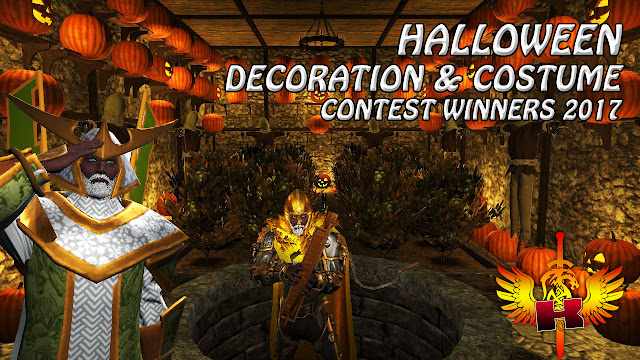 Shroud Of The Avatar • Halloween Decoration and Costume Contest Winners 2017