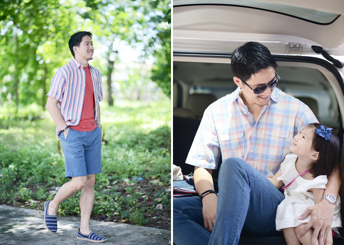 Marks and Spencer and Tobi Ang: On fatherhood, work & style