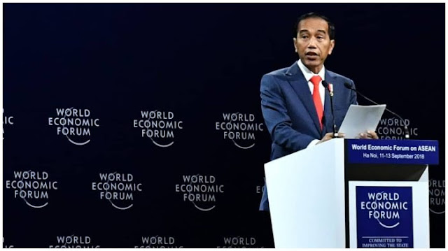 Jokowi Mengibaratkan Dirinya sebagai Tim Avengers yang Melawan Thanos