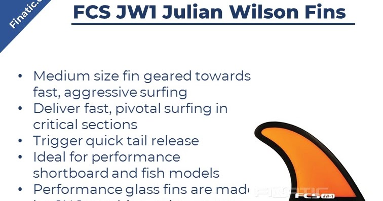 Use FCS JW1 Julian Wilson Fins without Buying it