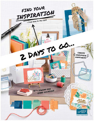 Get the New Stampin' Up! Catalogue here