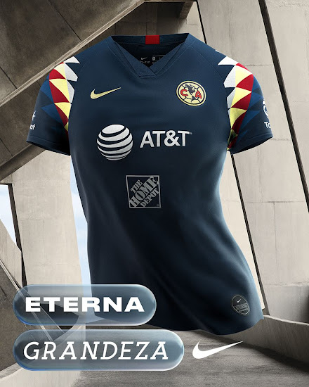 online store 10f8d 22f4a Nike Club America 19-20 Home & Away Kits Revealed - Footy ...