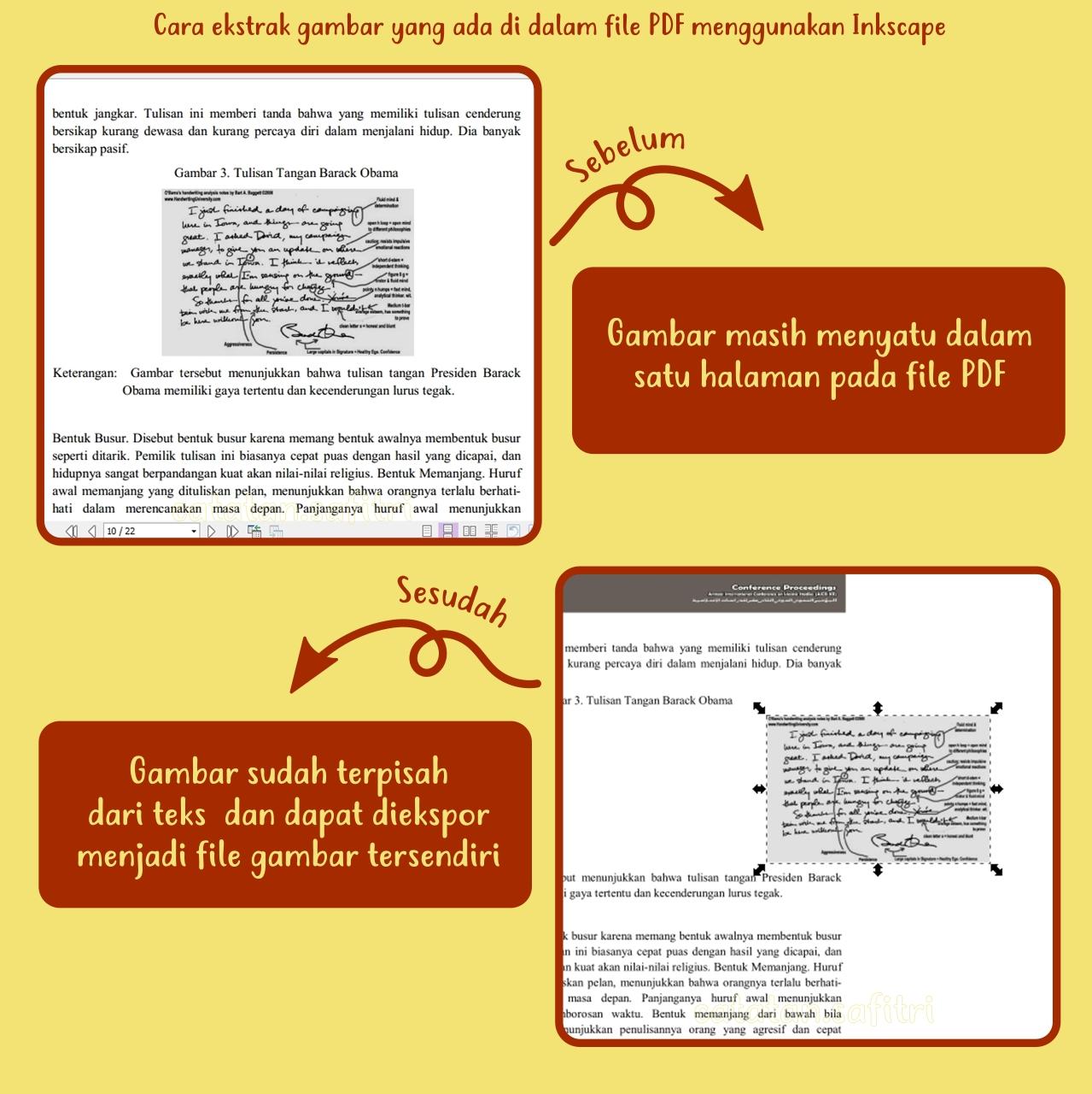 Cara Ekstrak Gambar Yang Ada Di Dalam File PDF Menggunakan Inkscape
