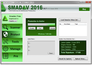SmadAV Antivirus 2016 Scanner review
