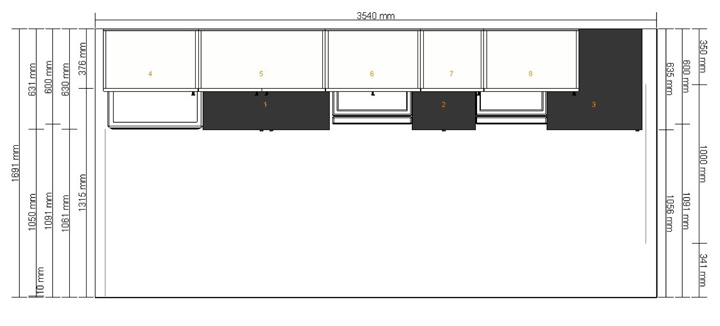 planer Ikea rzut z góry