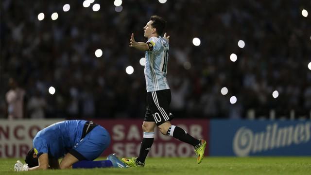 Argentina ao som de Messi