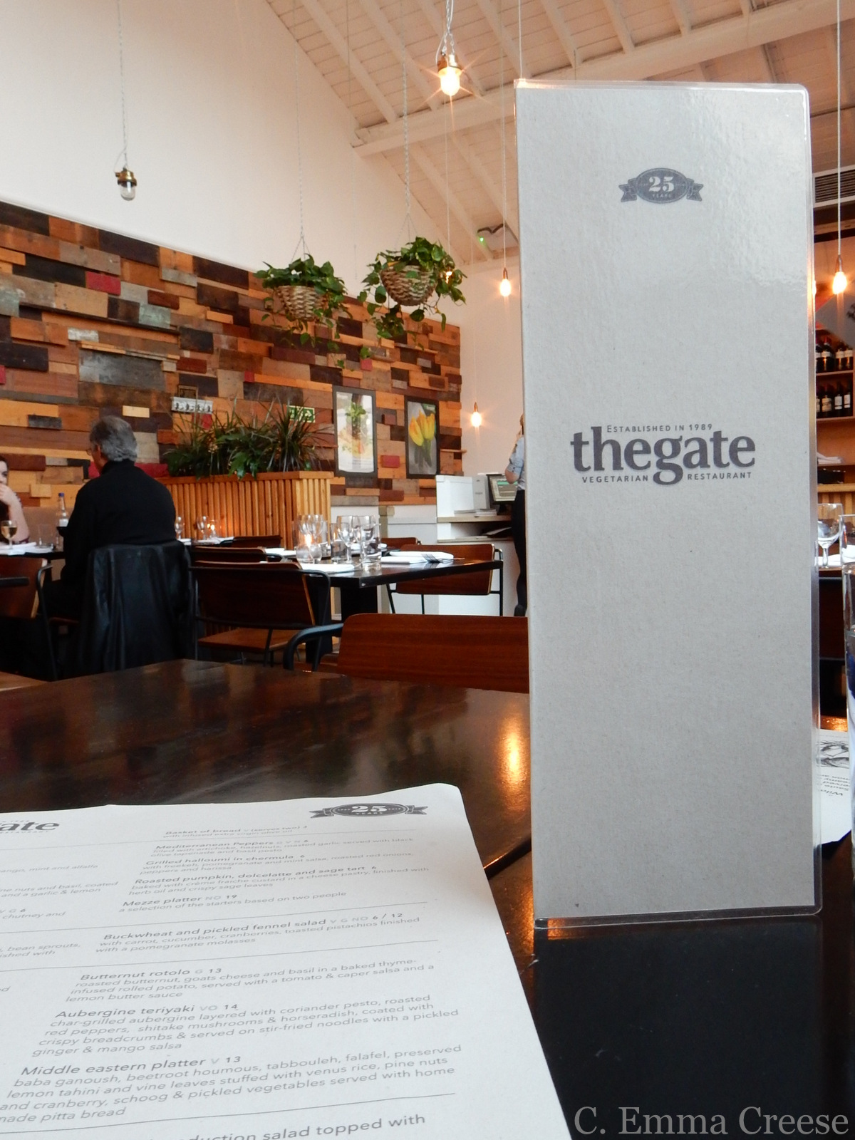 Vegetarian cuisine - the gate restaurant review - in London Adventures of a London Kiwi