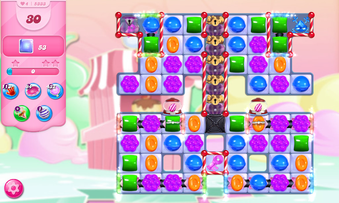 Candy Crush Saga level 5333