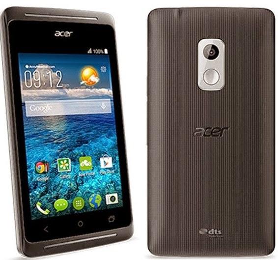Spesifikasi Acer Liquid Z205, Dibanderol 800 Ribuan