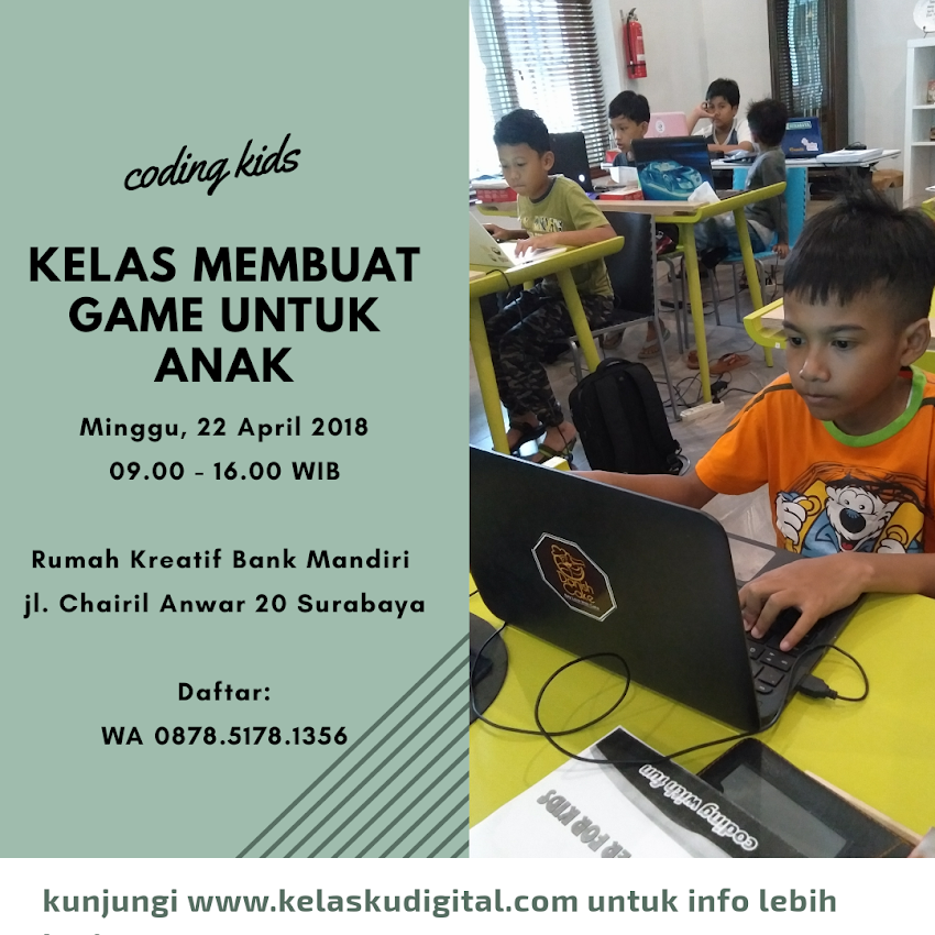 Kelas Game 22 April 2018