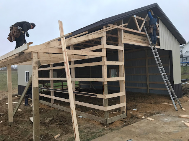 Woodward Acres: New Pole Building