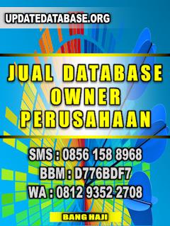 Database Nasabah Owner Perusahaan
